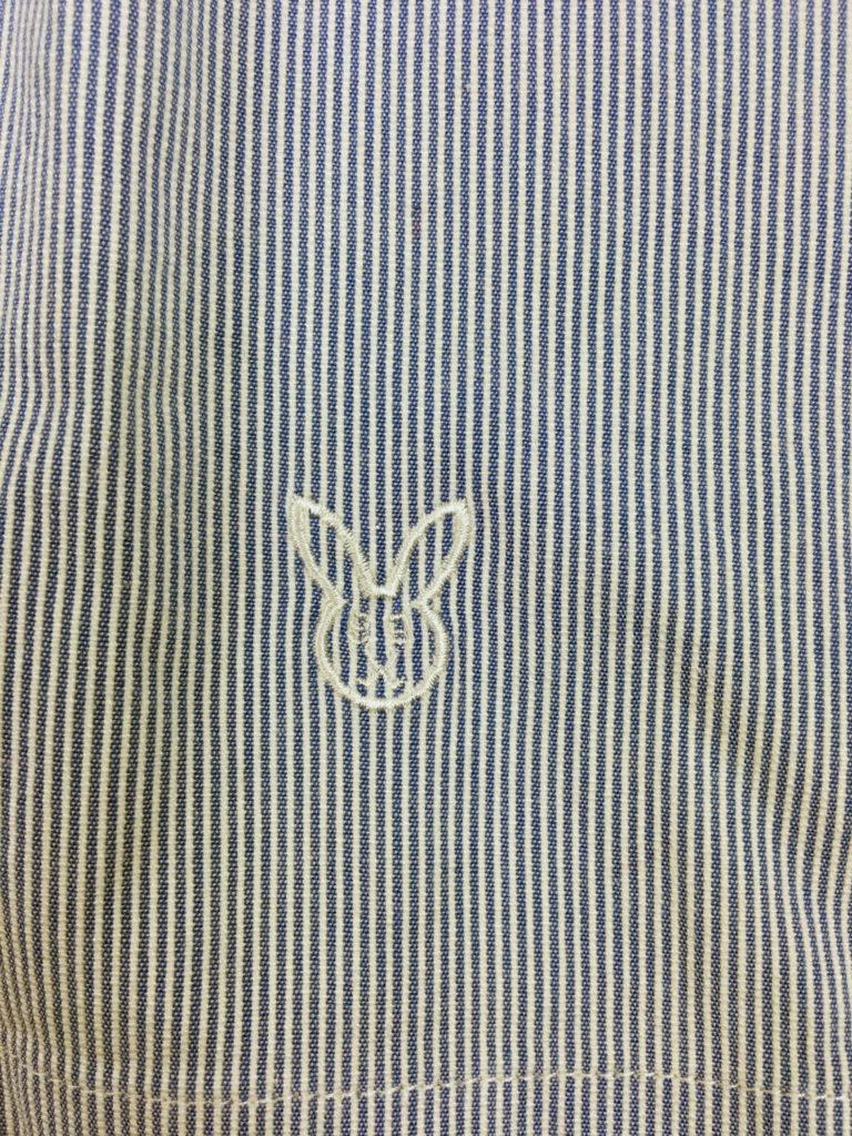 パーリーゲイツの刺繍ロゴでバニー柄
